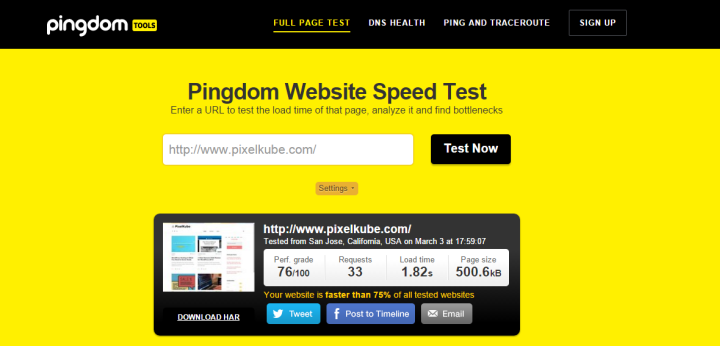 pingdom-test