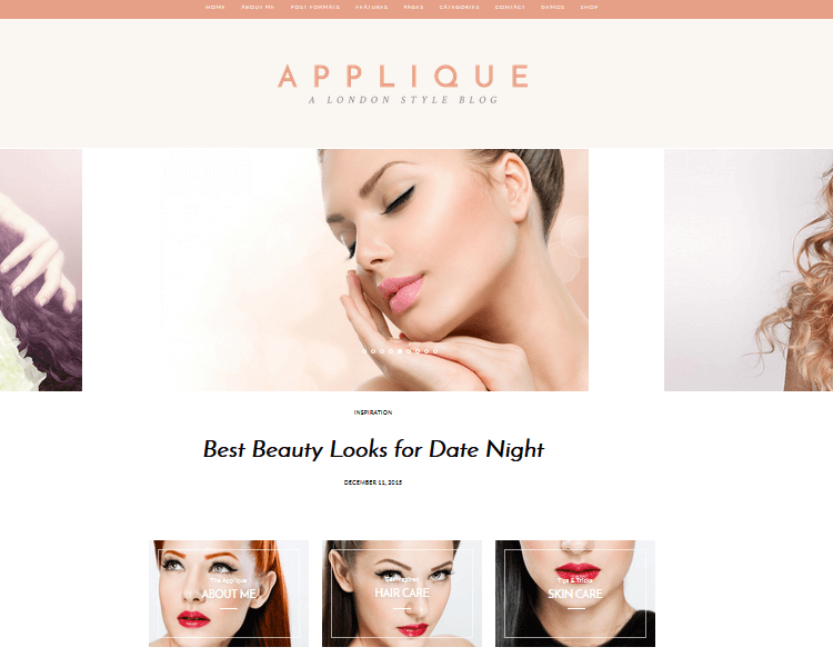 Applique - Fashion WordPress Theme