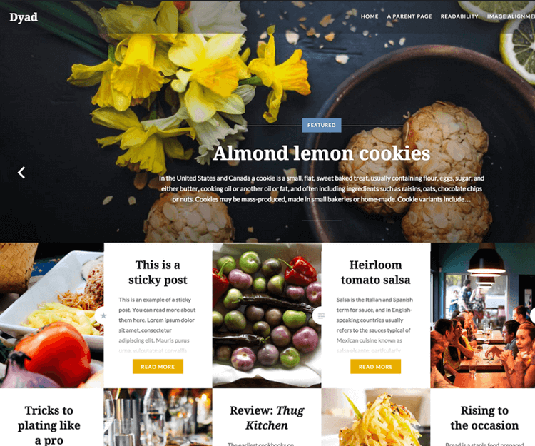 10 of the best wordpress food blog themes 2018 edition dyad food wordpress themes forumfinder