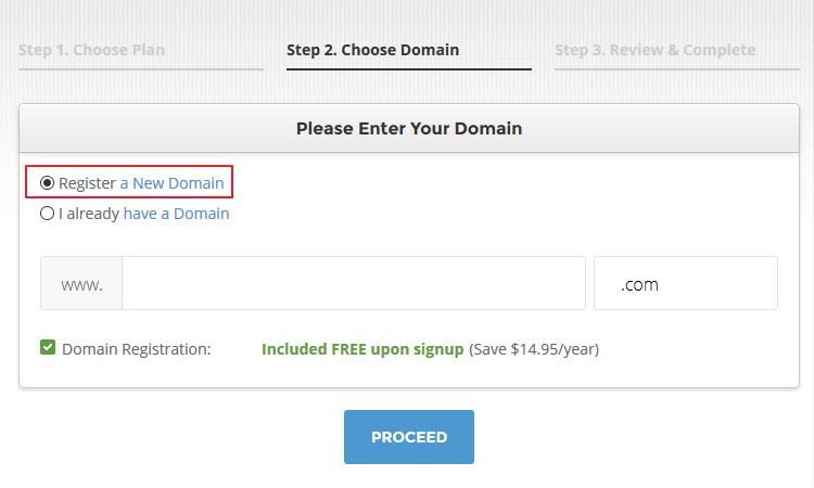 SiteGround - Domain Name
