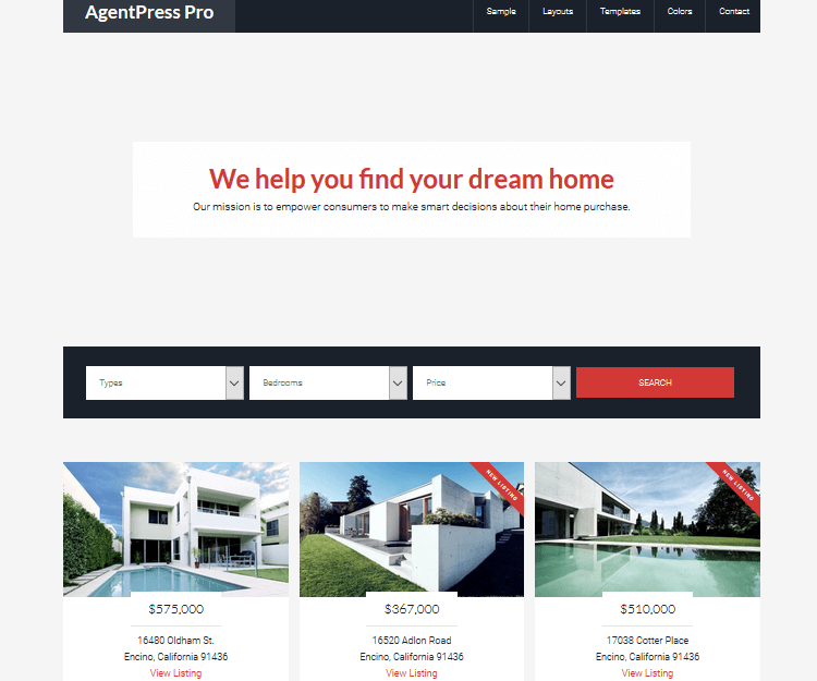 AgentPress Pro - Genesis Child Themes