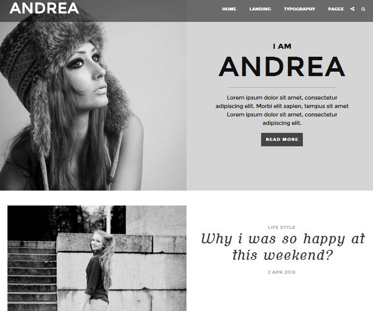 Andrea - Genesis Child Themes