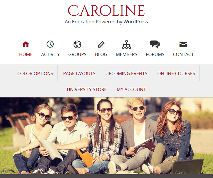 Caroline - Genesis Child Themes
