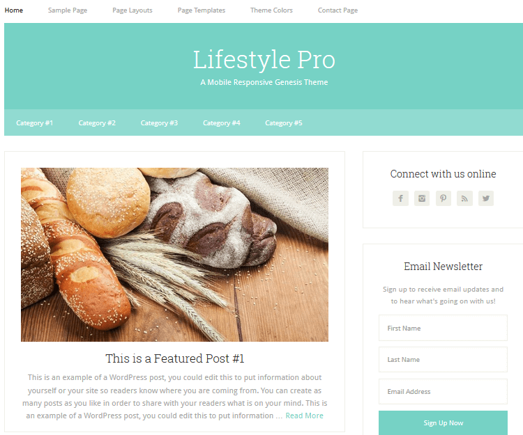 Lifestyle Pro - Genesis Child Themes