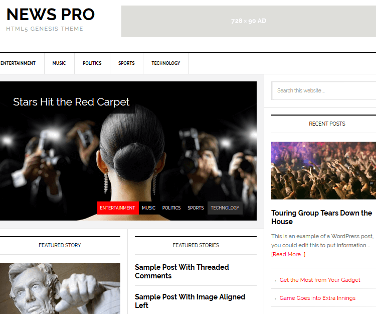 News Pro - Genesis Child Themes