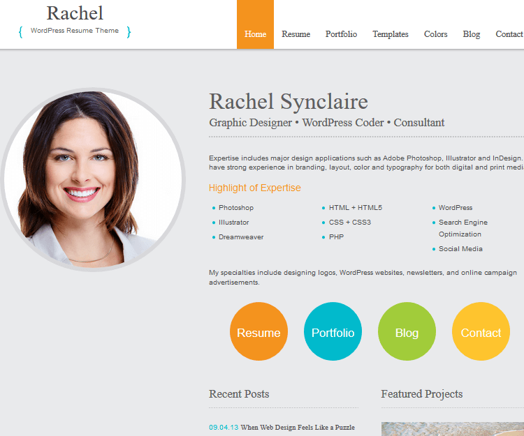 Rachel - Genesis Child Themes