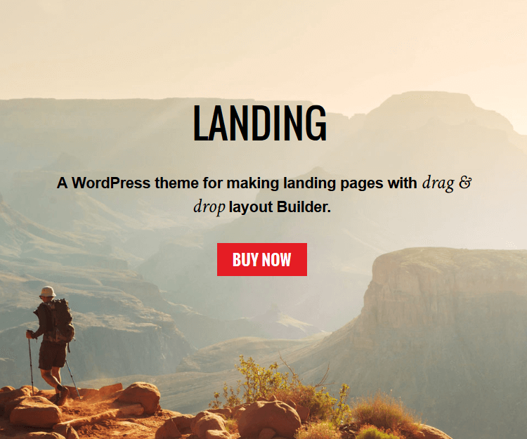 Landing - WordPress Landing Page Themes