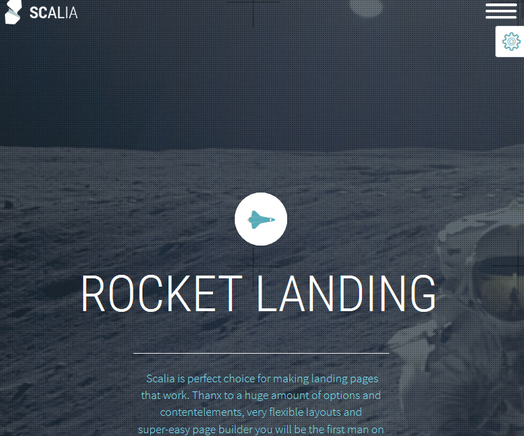 Scalia - WordPress Landing Page Themes