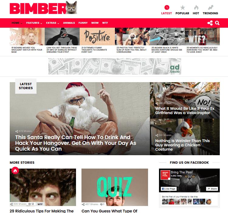 Magazine Themes - Bimber