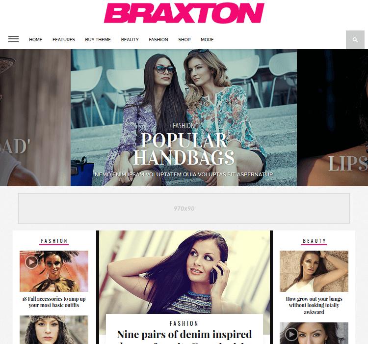 Magazine Themes - Braxton