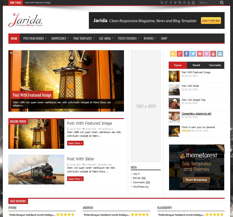 Magazine Themes - Jarida
