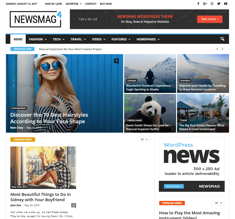 Magazine Themes - Newsmag